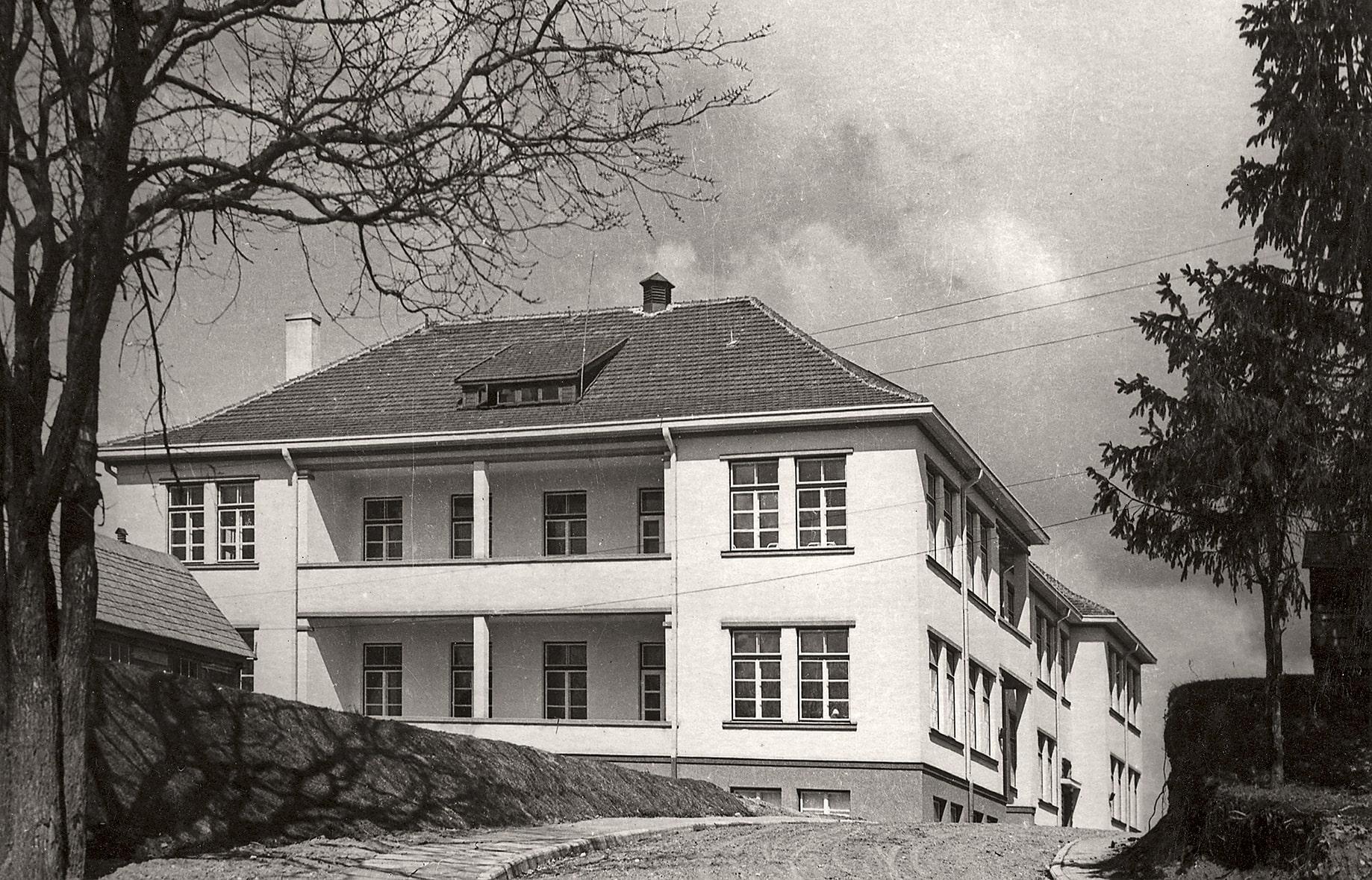 Naujoji Kėdainių apskrities ligoninė, 1938 m.