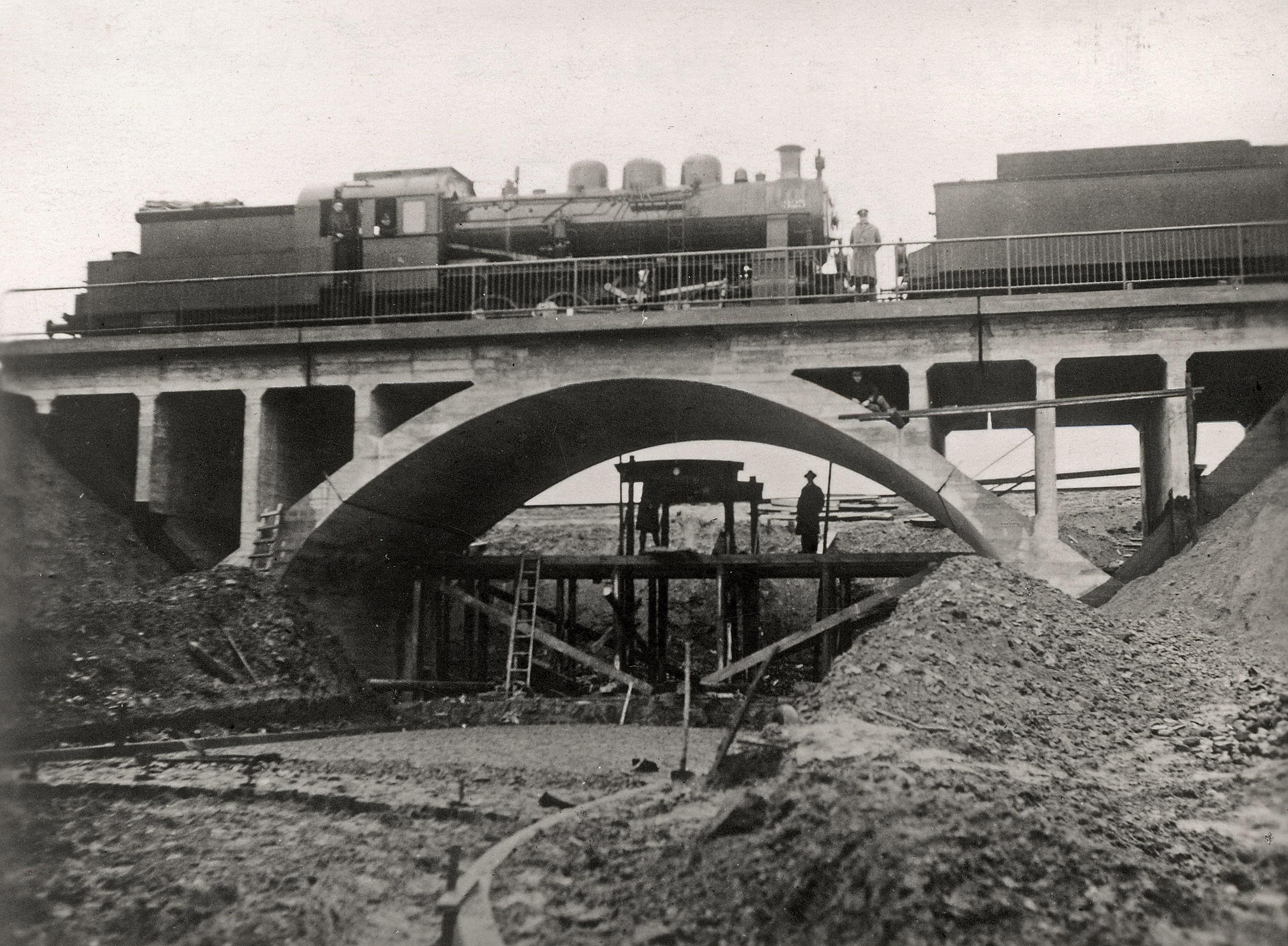 Naujo Kėdainių geležinkelio viaduko bandymas, 1938 lapkričio 5 d. 1944 liepos 30 d. susprogdintas nacių