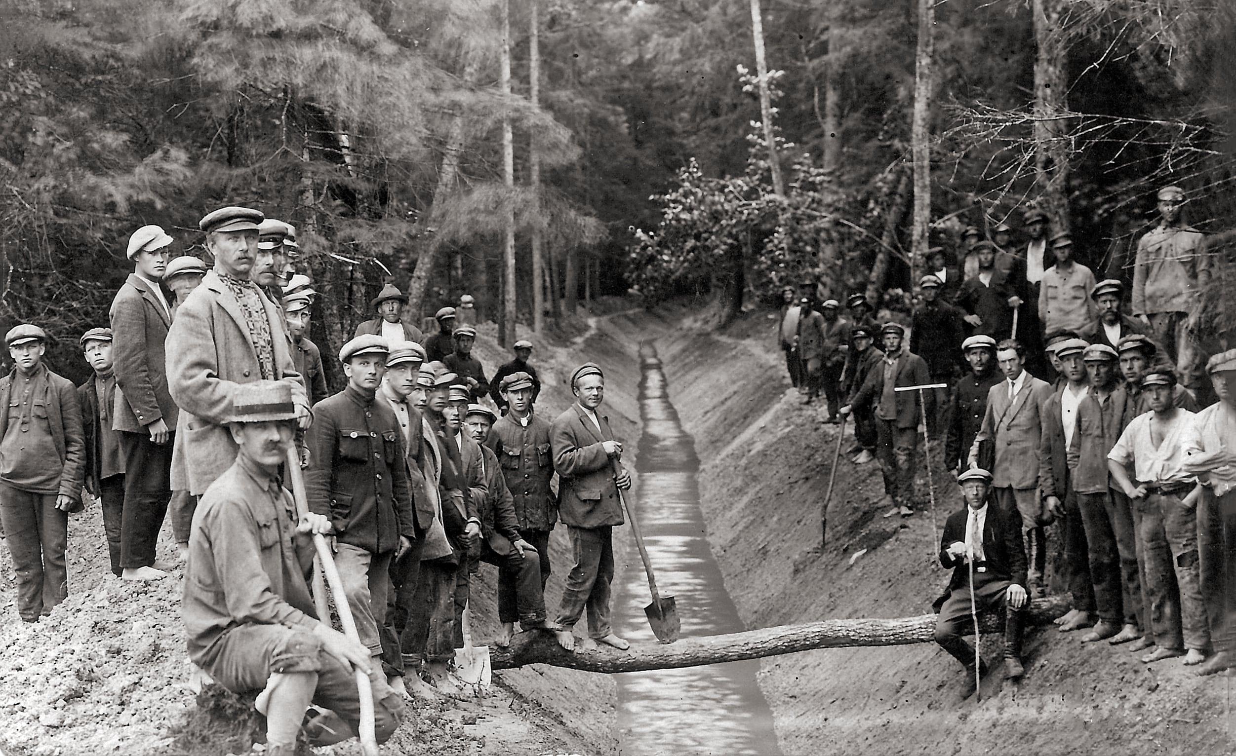Melioracijos darbai, 1927 m.