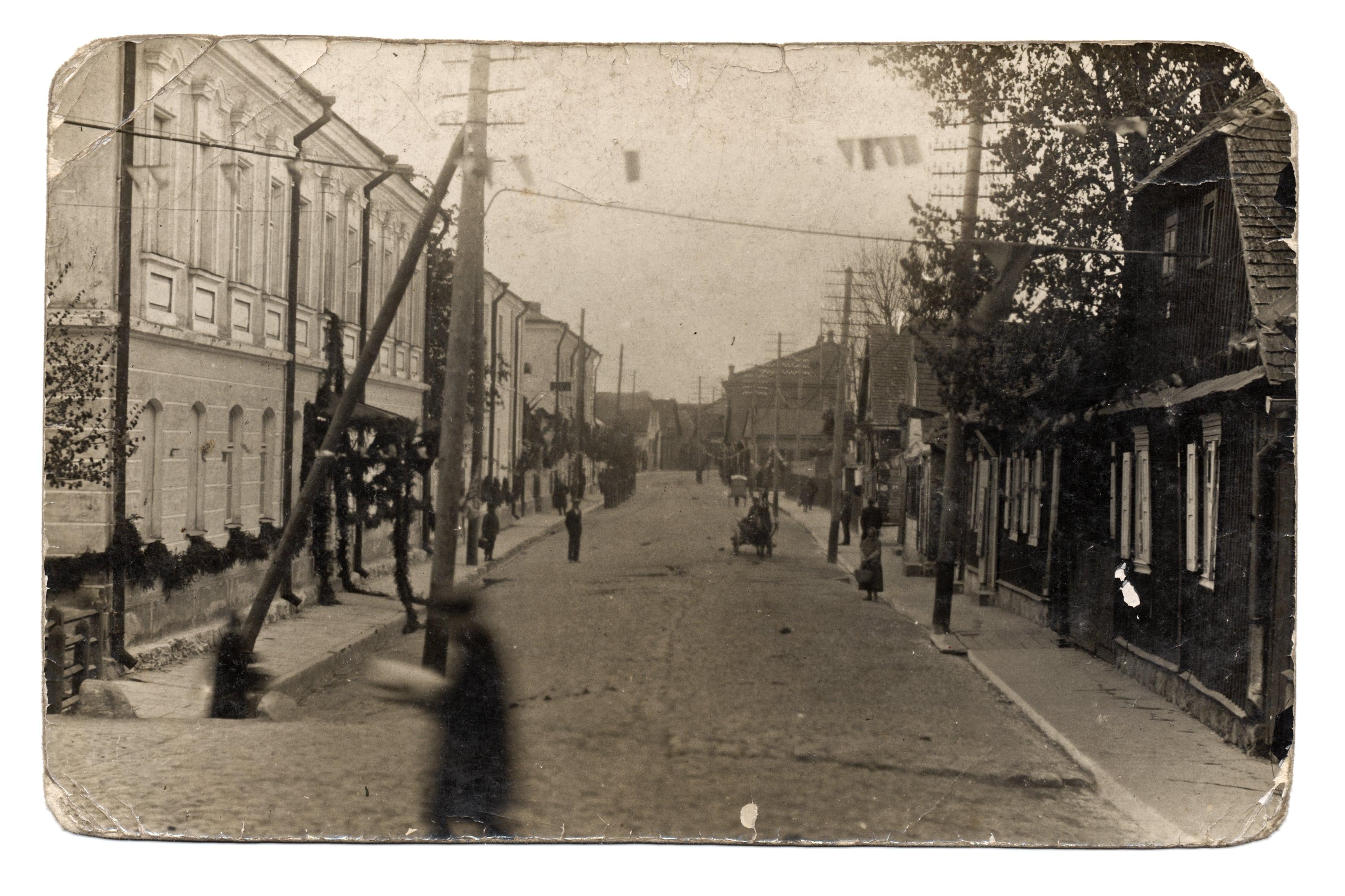 Didžioji gatvė Kėdainiuose, ~1925 m