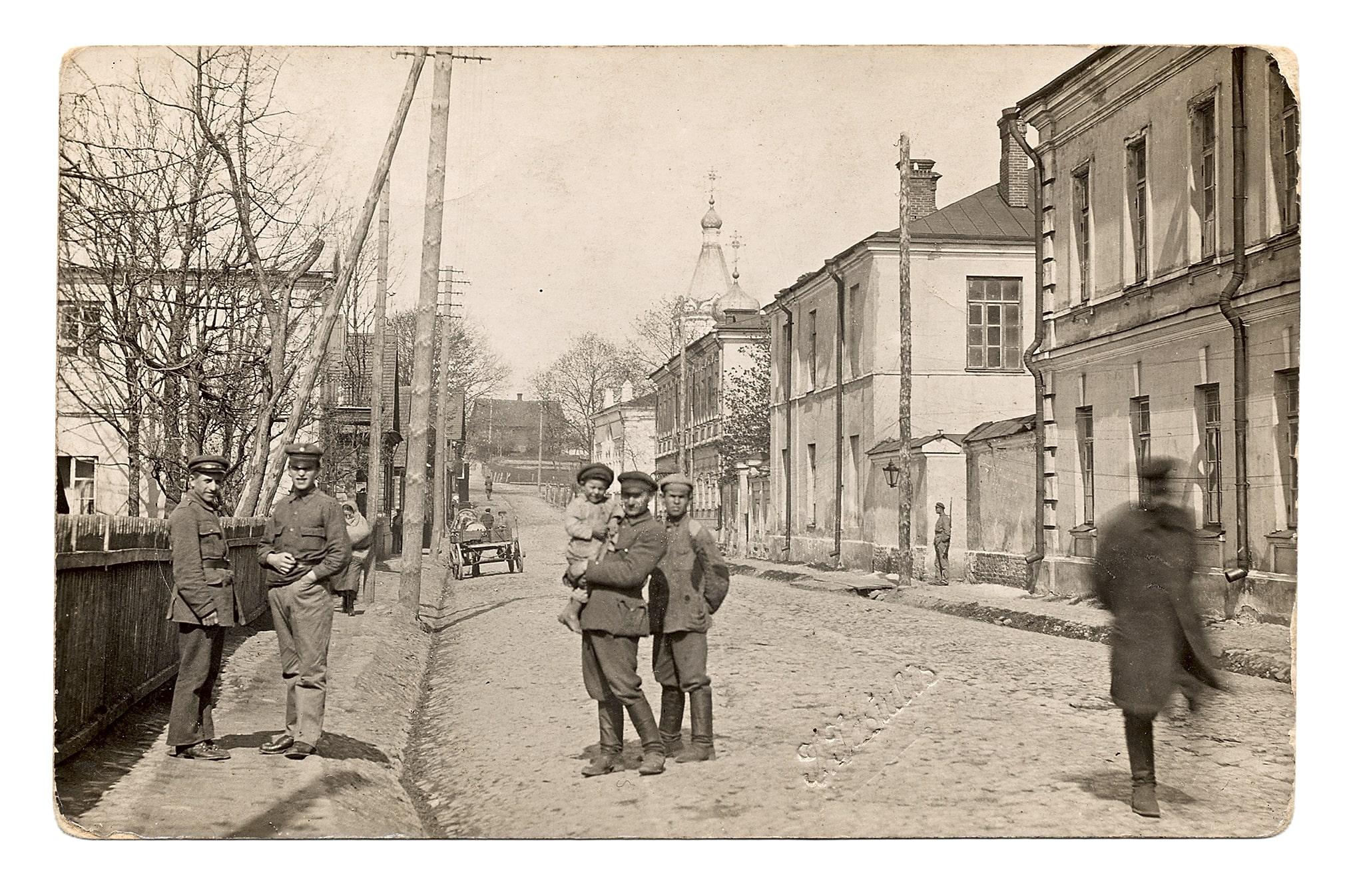 Gedimino (dabar Didžioji) gatvė. J. Jasiulio nuotr