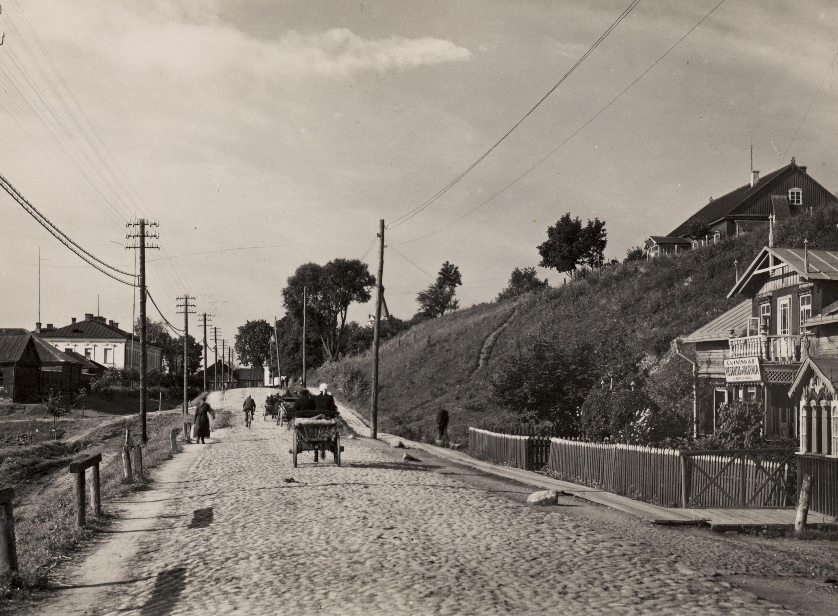 Stoties (dabar J. Basanavičiaus) gatvė