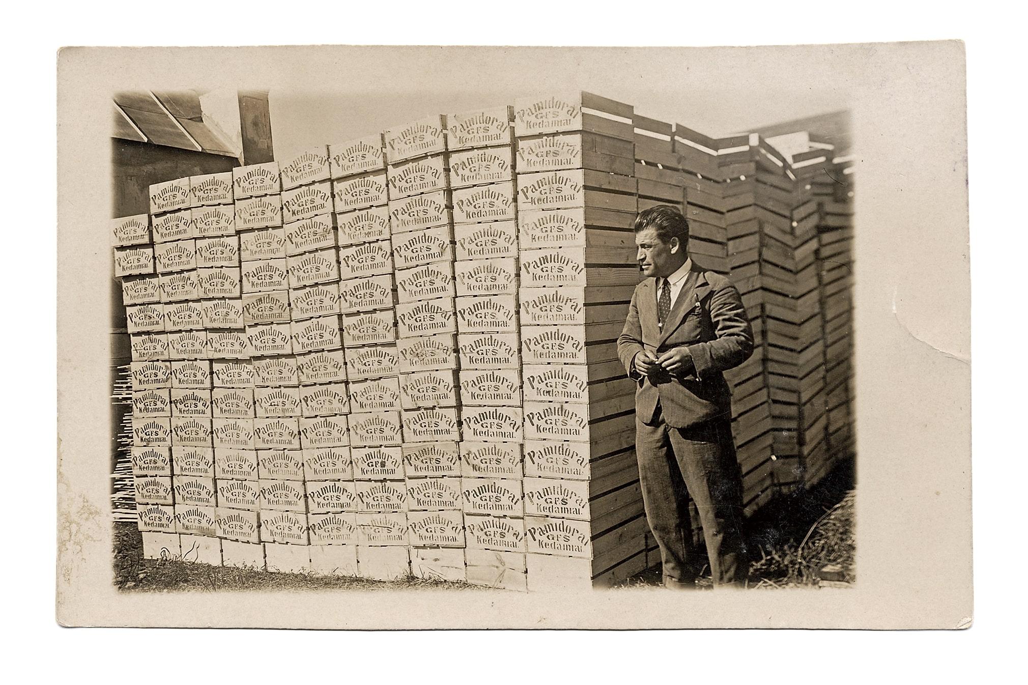 Golomboko - Fridlando - Štembacho pomidorų auginimo firmos produkcija, XX a. 4 deš.