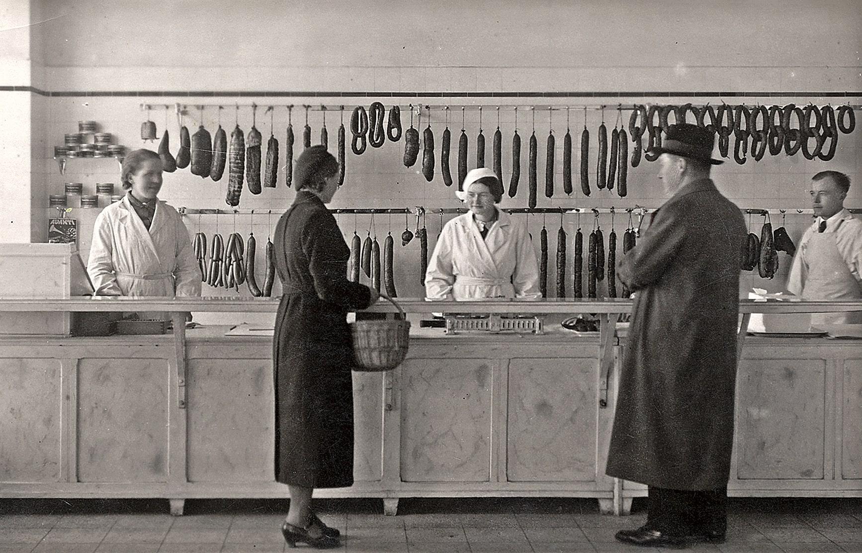 Dešrų parduotuvė Kėdainiuose