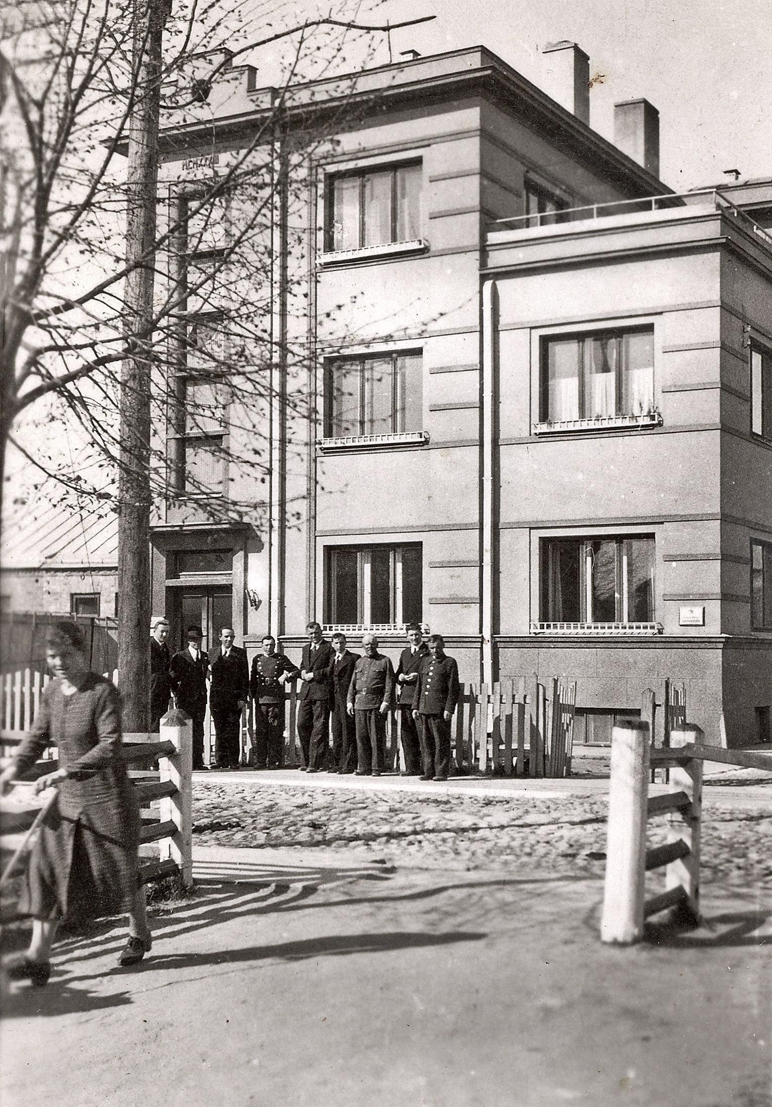 Kėdainių apskrities valdybos pastatas, ~1938 m.