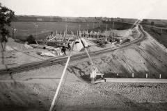 Geležinkelio viaduko statyba, 1938 m.