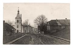 Kristaus Atsimainymo cerkvė Gedimino gatvėje. Bronislavo Mikštavičiaus nuotr. , 1930 m.