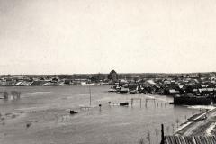 Potvynis Kėdainiuose, XX a. 4 deš.