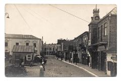 Gedimino (dabar Didžioji) gatvė ir šiaurinė Vilniaus (dabar Didžioji Rinkos) aikštės dalis. Jokūbo Skrinskos nuotr.